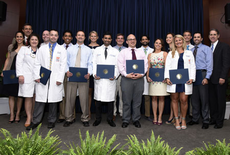 Residents and fellows recognized during graduation ceremony