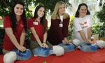 Learning to save lives: 850 high-schoolers take hands-only CPR course in one day - Thumb