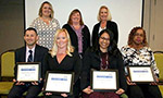 Four COMJ personnel receive UF Superior Accomplishment Awards  - Thumb